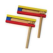 Colorful Jumbo Wooden Gragger