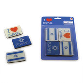 I Love Israel and Flag of Israel Magnets