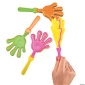 Large Neon Hand Clappers