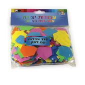 Hanukkah (Hanukkah (Chanukah)) Dreidel Self-Adhesive Foam Shapes