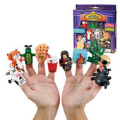 10 Plagues Finger Puppets for Passover