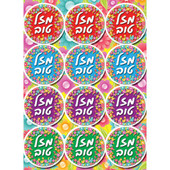 """Mazal Tov"" New Design Stickers"