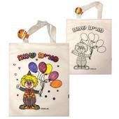 Happy Purim Tote Bag - Shalach Manos Bag for Decorating