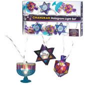 Chanukah Hologram Light Set