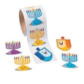 Chanukah Sticker Roll