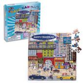 Chanukah City Scene Puzzle (100 pcs.)
