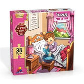 Girl's Modeh Ani Puzzle