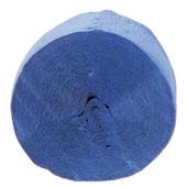 Royal Blue Crepe Streamer