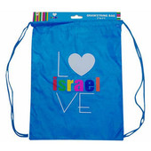 I Love Israel Back Bag