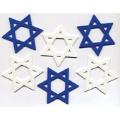 Die-Cut Star of David Foam Shapes
