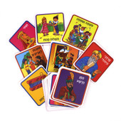Purim Memory Game in Hebrew