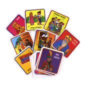 Purim Memory Game in Hebrew