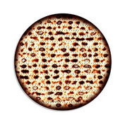 Small Round Matzah Cutouts