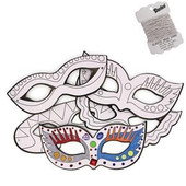 Make-Your-Own Purim Eye Masks