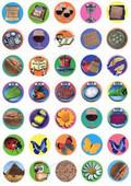 Small Passover Symbols Stickers