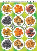 Dried Fruit Stickers
