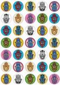 Hamsa Stickers