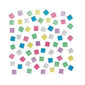 Plastic Glitter Mosaic Squares