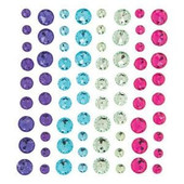 Bright Rhinestone Bling Stickers