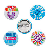 Hanukkah Mini Buttons
