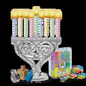 Candle Menorah Set Mini