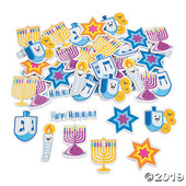 Hanukkah Self-Adhesive Shapes