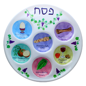 Disposable Seder Plate - Artsy