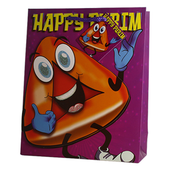 Luxury 3D Purim Paper Bag