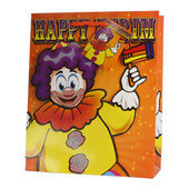 3D Purim Paper Bag - Clown