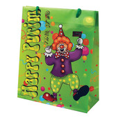 Happy Purim UPVC Gift Bag - Clown