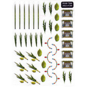 Sukkot Symbols Stickers - 430 in Pack
