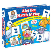 Alef Bet Match & Play Game