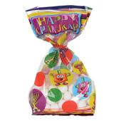 Chanukah Treat Bags - 20 Bright Chanukah Cellophane Bags