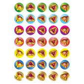Purim Hamantash Stickers