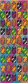 "New Tzedakah Stickers 0.5"" - 6 Sheets (270 Stickers)"