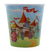 Purim Plastic Cup for Mishloach Manot