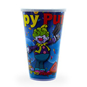 Purim Plastic Cup for Mishloach Manot - Tall