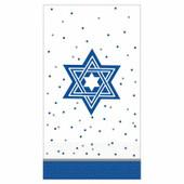 Star of David Design Paper Guest Towels