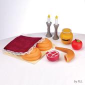 My First Rosh Hashanah Food Set, Vinyl