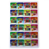 """Wiggle Picture """"Kol HaKavod"""" Hebrew Incentive Stickers"""