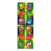 Die-Cut Square Yafeh (יפה), Metzuyan (מצוין), Tov Meod (טוב מאוד) Stickers