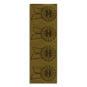 Camper of the Week Gold Medallion Stickers