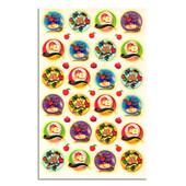 """Shana Tova Stickers for Rosh HaShanah 1.4""""- 8 Sheets"""