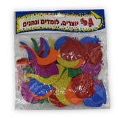 Rosh HaShanah Glitter Foam Shapes
