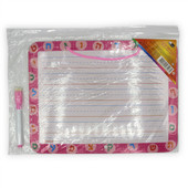 Copy of Aleph Bet Personal Practice Dry-Erase Board Pink