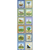 12 Tribes of Israel Poster Set