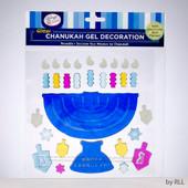 Chanukah Window Gel Decoration