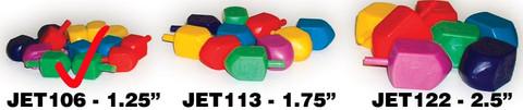 Small Plastic Chanukah Dreidels