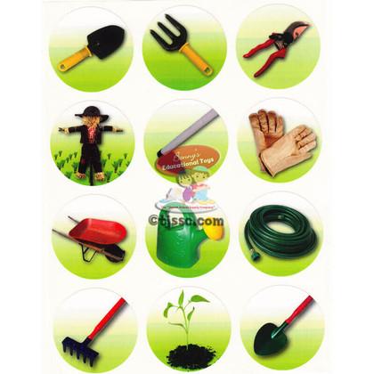 Gardening Tools Stickers