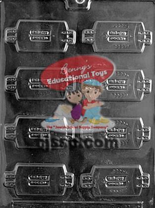 Dressed Torahs Chocolate Plaster Molds